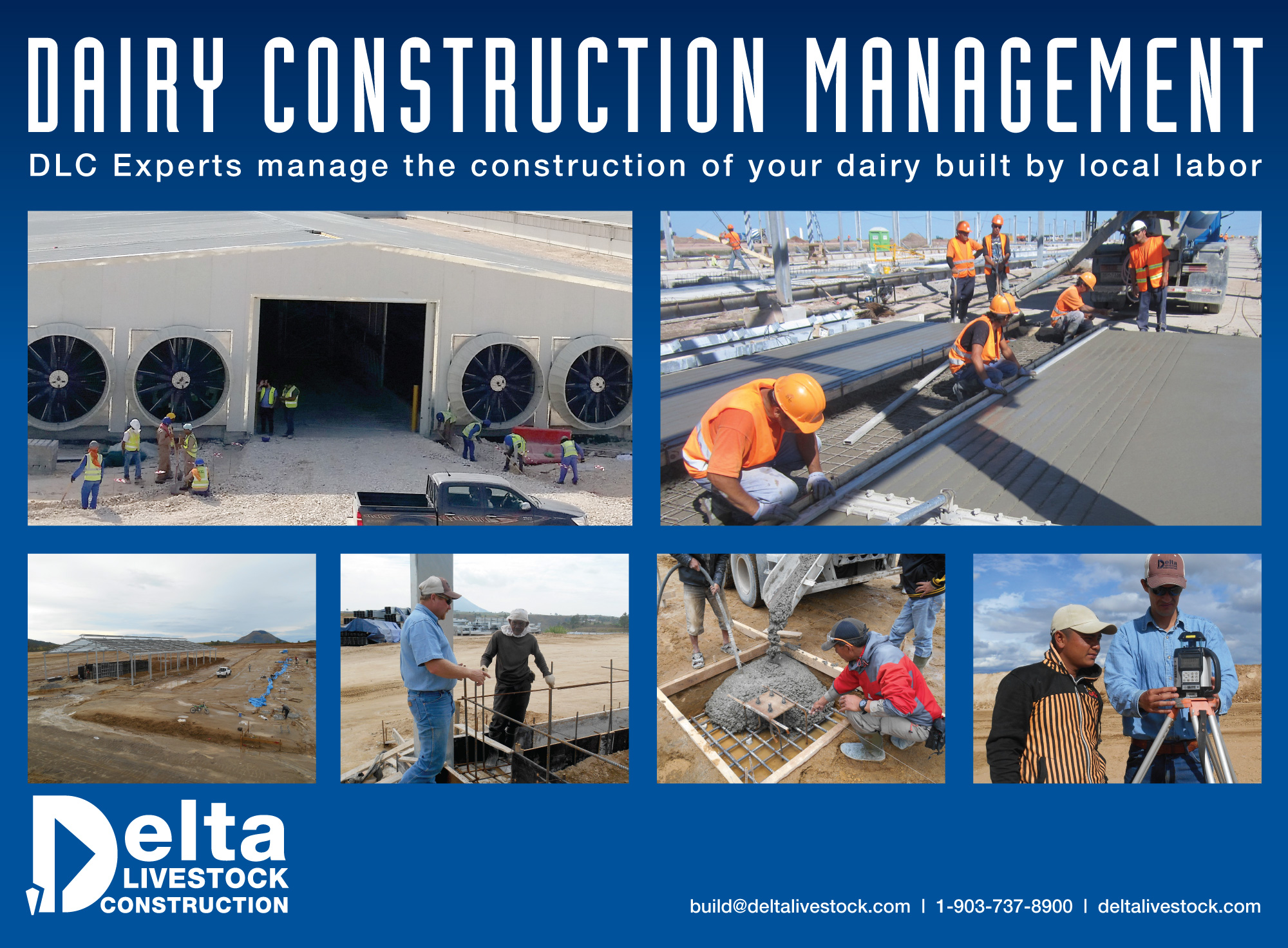 Delta Livestock Construction ad